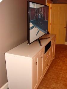 LED TV Cabinet Side